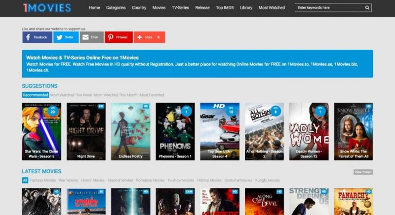 Best 8 Alternatives to PrimeWire to Watch HD Movies