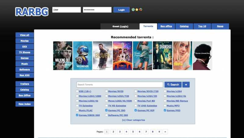 Best Alternative Sites for RARBG.to