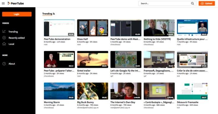 Free YouTube Alternatives