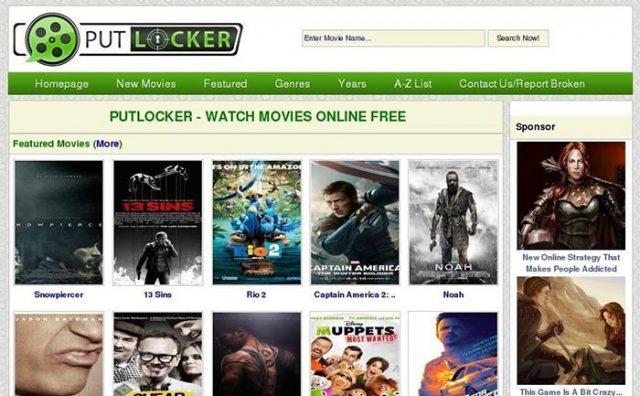 Putlocker Alternatives Sites