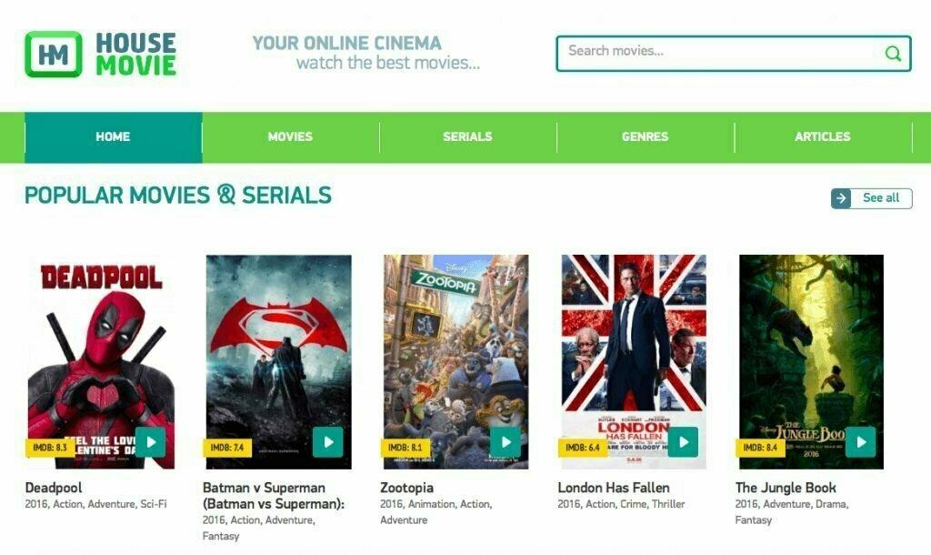10 Sites Alternatives Like Alluc Movie
