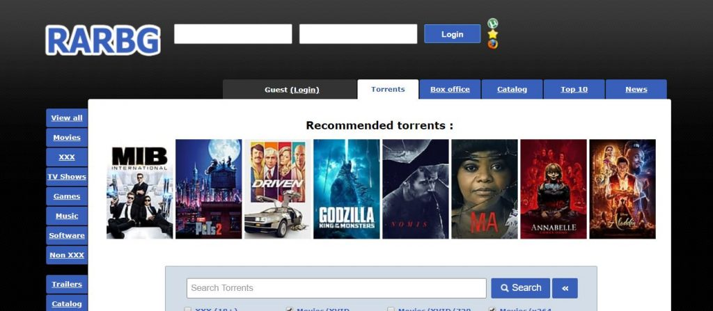 10 Torrent Sites For 2020
