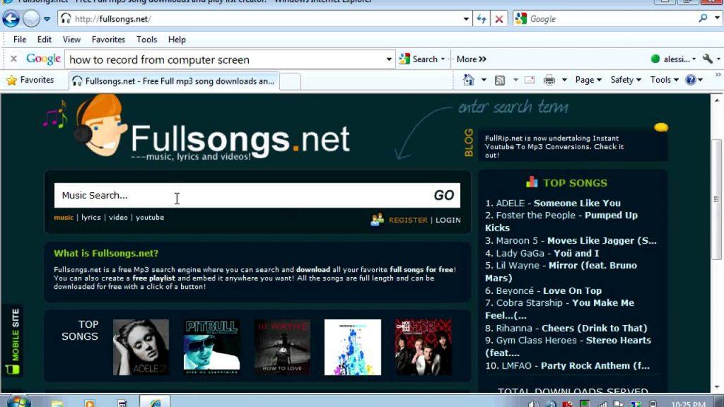 Fullsongs.net Proxy/Mirror Sites