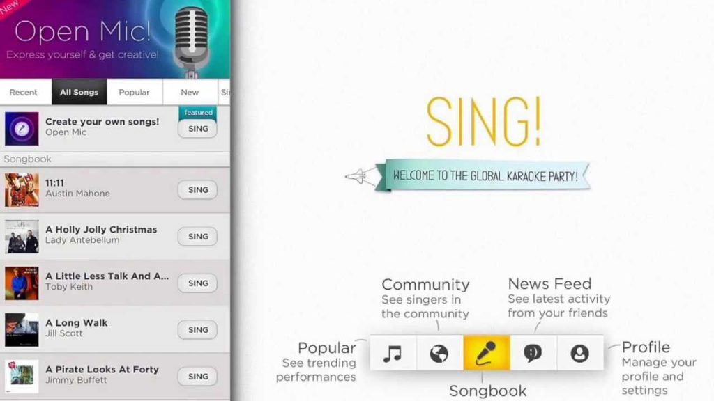 Free Karaoke Singing Apps