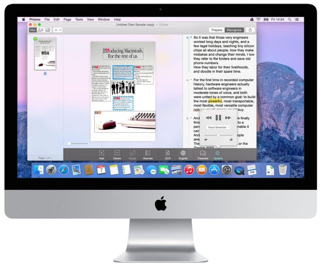 scanning software for Mac