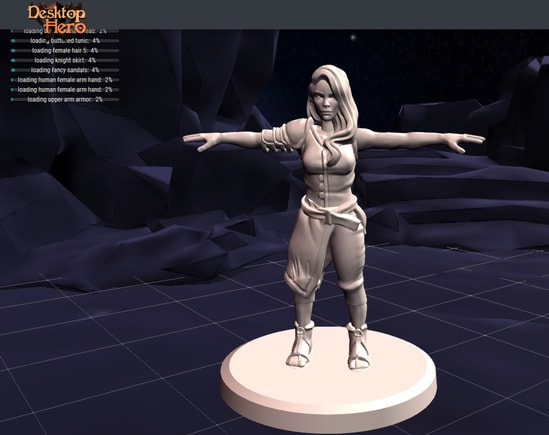 Best 10 Hero Forge Alternatives Full 3D Models in 2020
