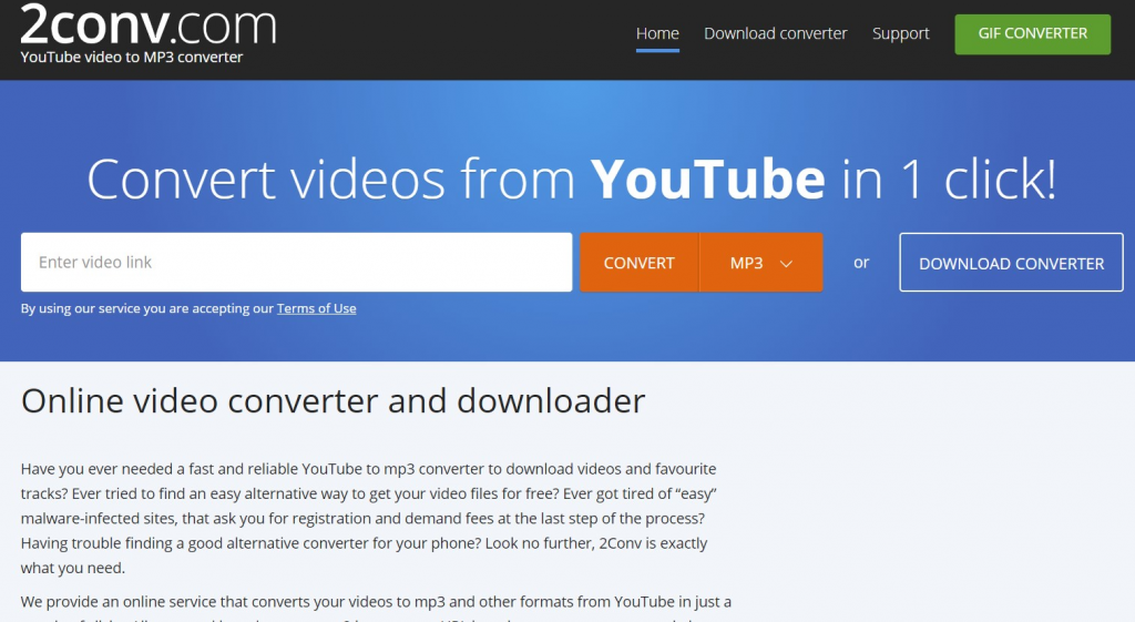 2conv YouTube To Mp3 Converter: All You Want To Know