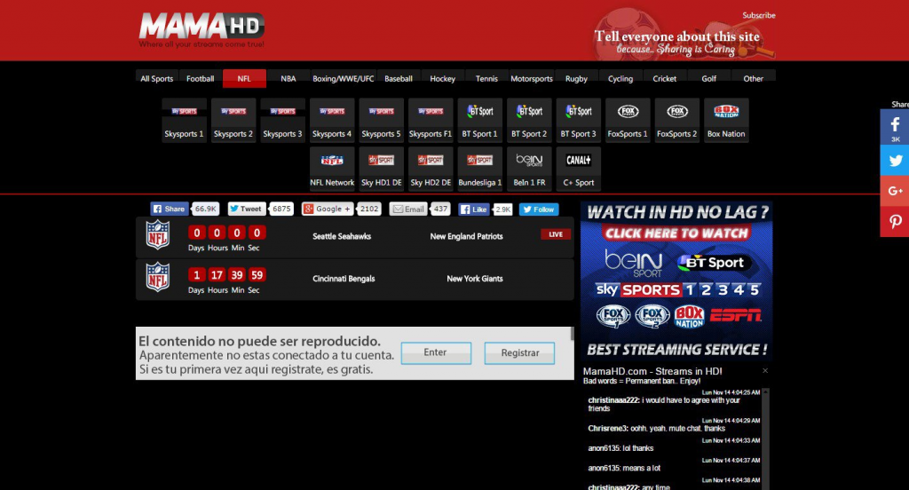 Best 5 MMA Streaming Sites