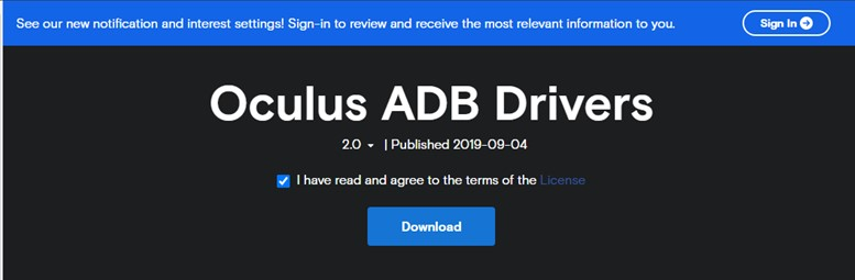 How To Download and Update Oculus Driver