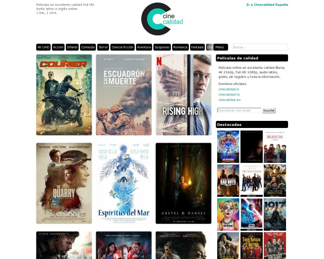Is CineCalidad Legal a Download Movies Website?