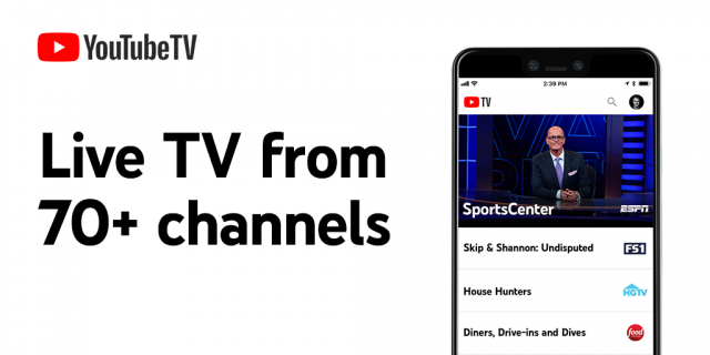 Watch on YouTube TV Shows, News & Live Sports