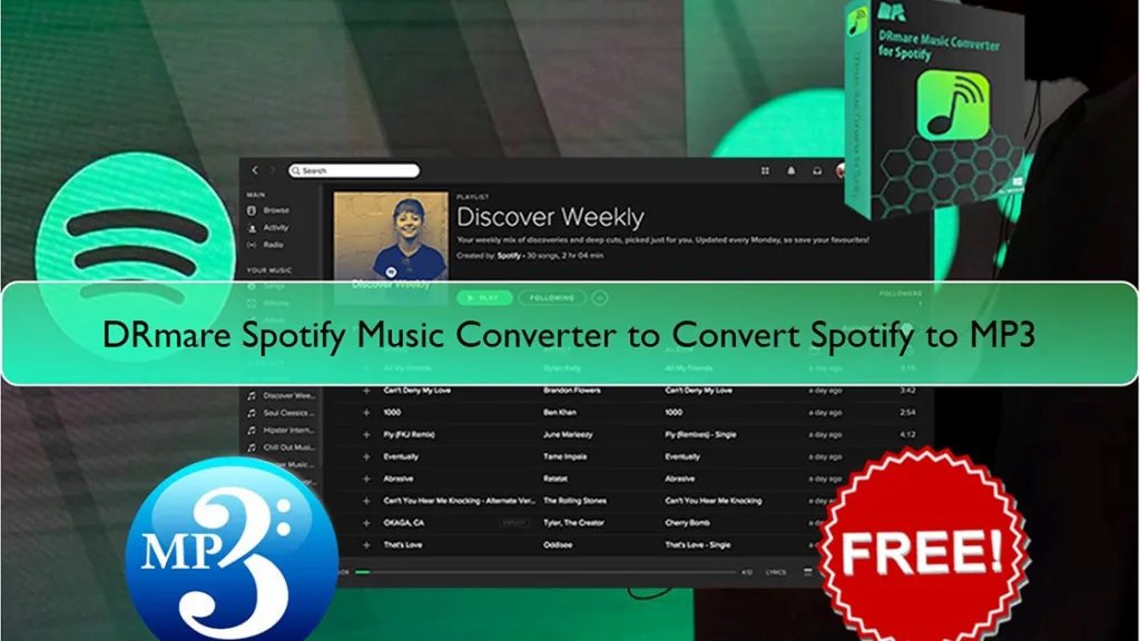 DRmare Spotify Music Converter: Convert Spotify to MP3