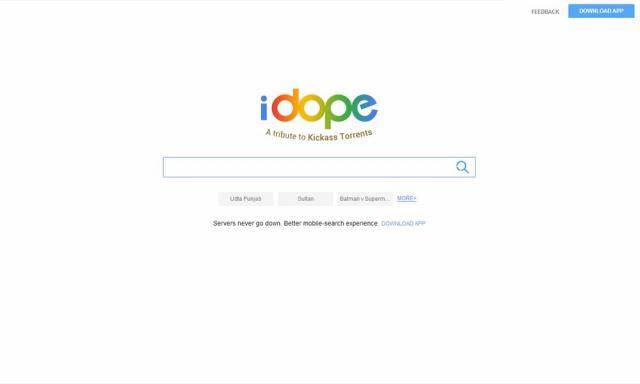 iDope   iDope Torrent Proxy & Mirror Sites & iDope Alternatives